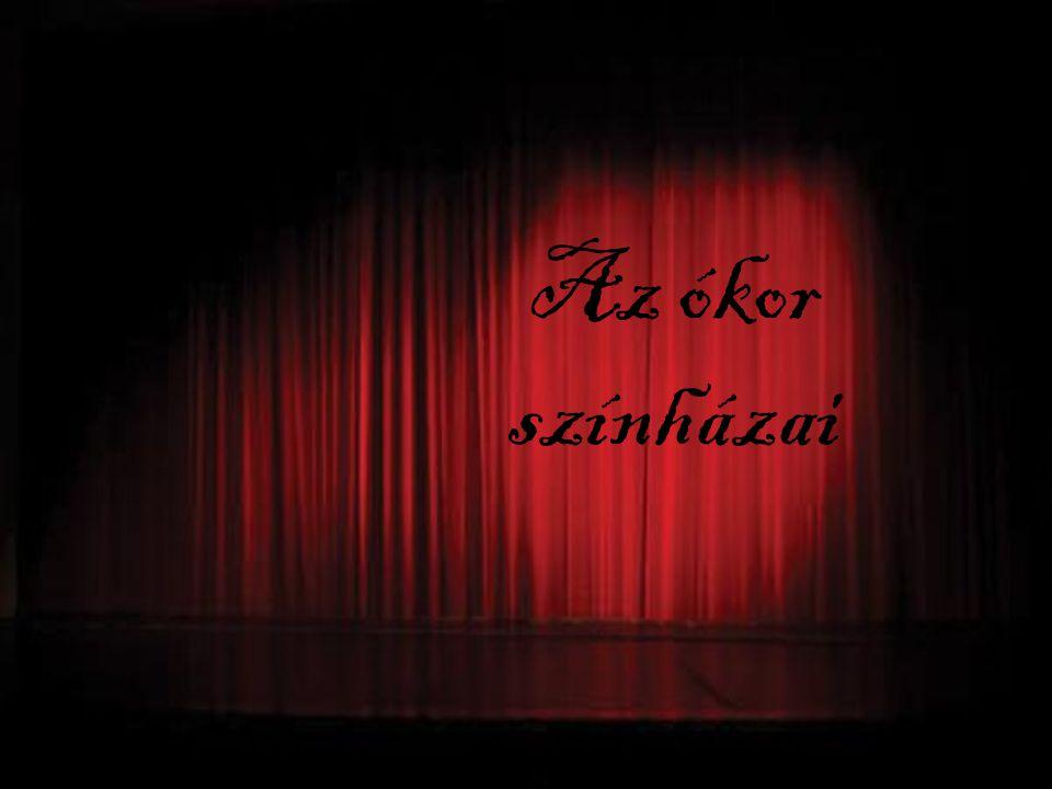 Az ókor színházai