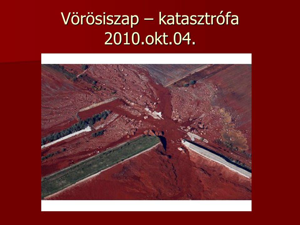 Vörösiszap – katasztrófa 2010.okt.04.