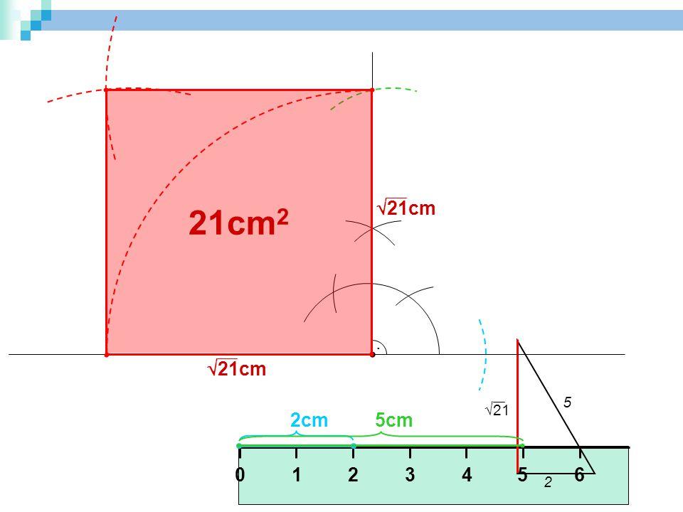 21cm2 21cm . 2 5 21 21cm 2cm 5cm 1 5 3 2 6 4