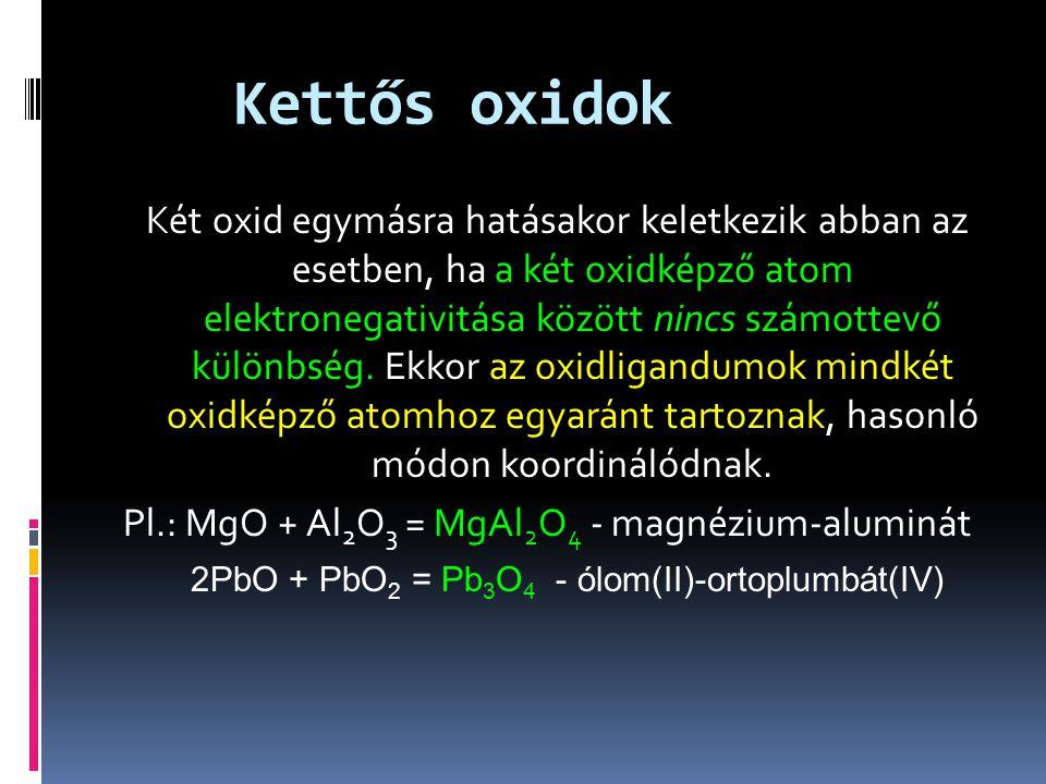 Kettős oxidok