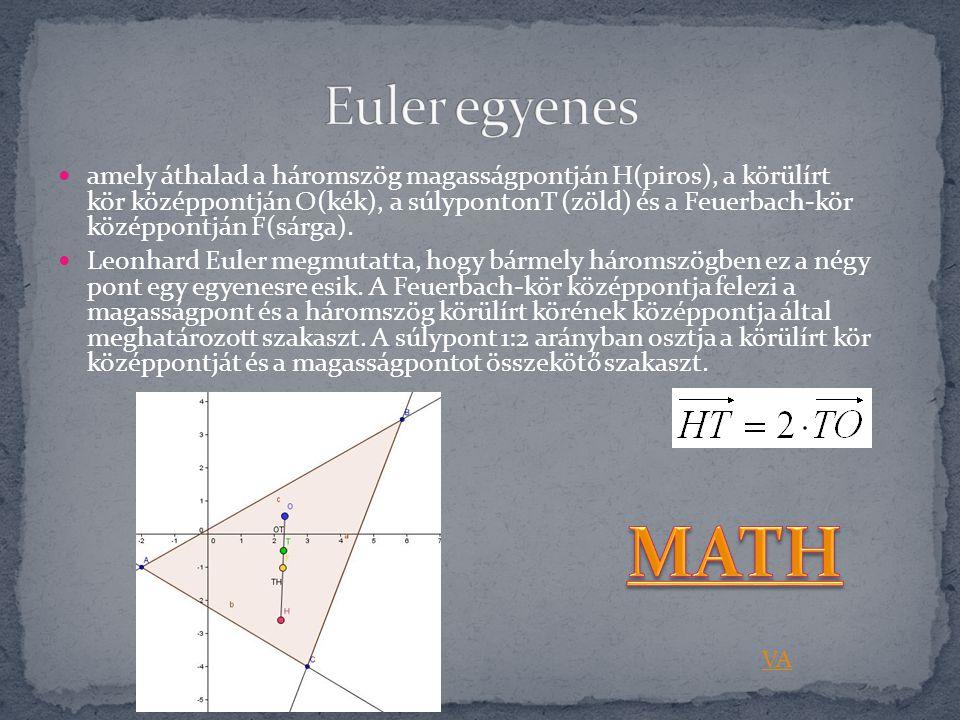 Euler egyenes