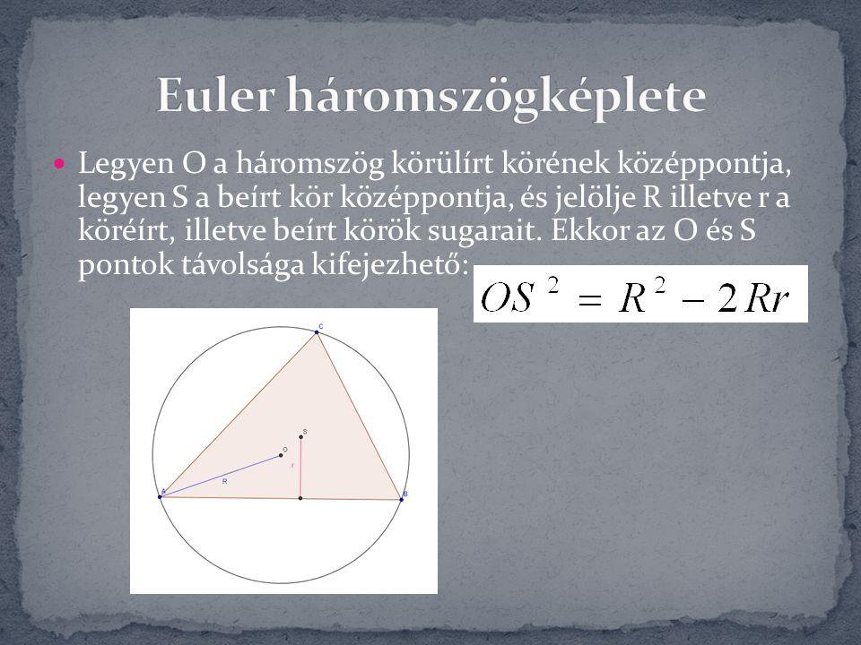 Euler háromszögképlete