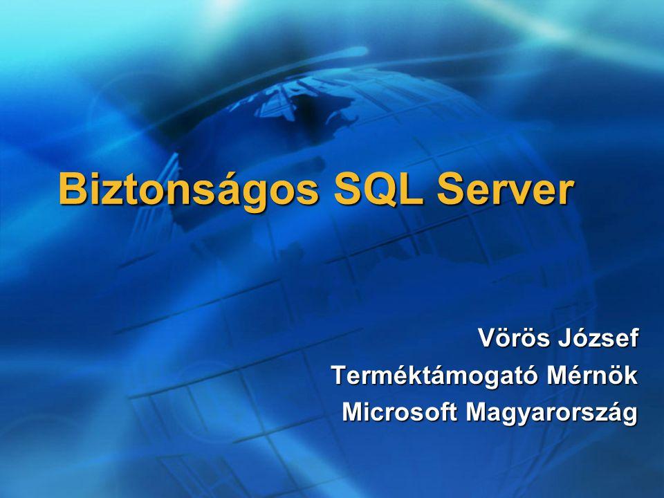 Biztonságos SQL Server