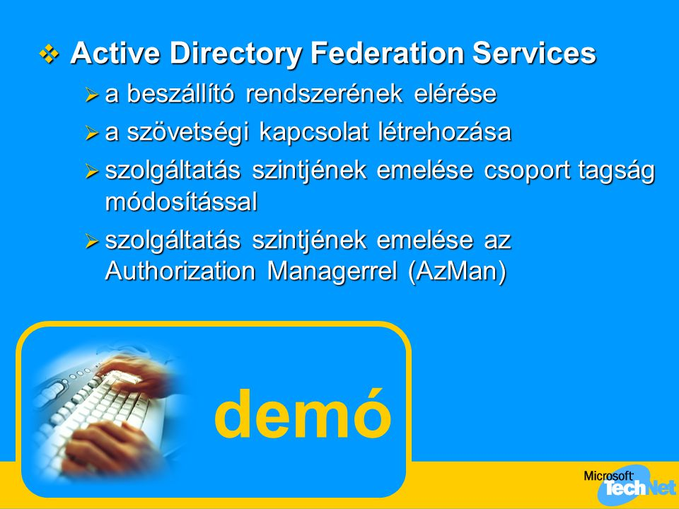 demó Active Directory Federation Services