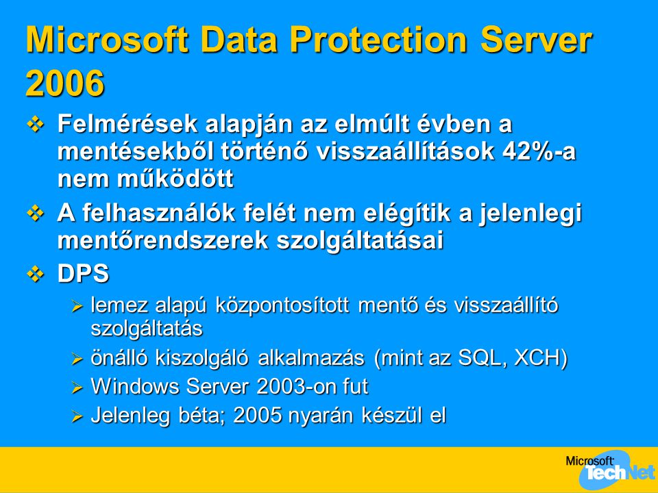 Microsoft Data Protection Server 2006
