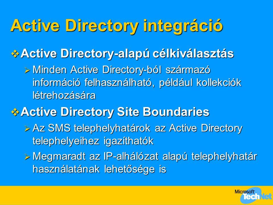 Active Directory integráció