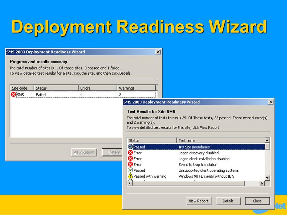 Deployment Readiness Wizard