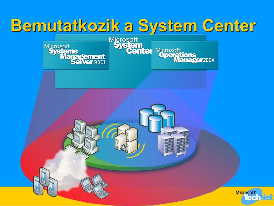 Bemutatkozik a System Center