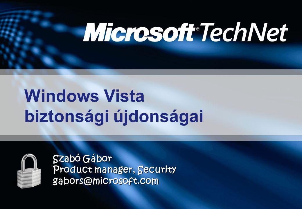 Windows Vista biztonsági újdonságai