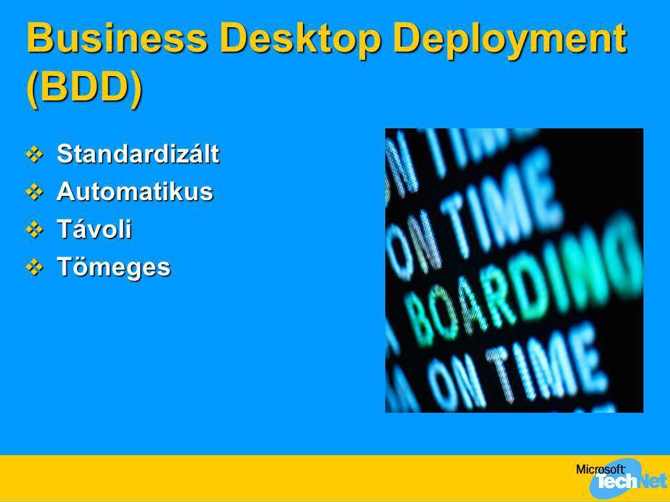 Business Desktop Deployment (BDD)