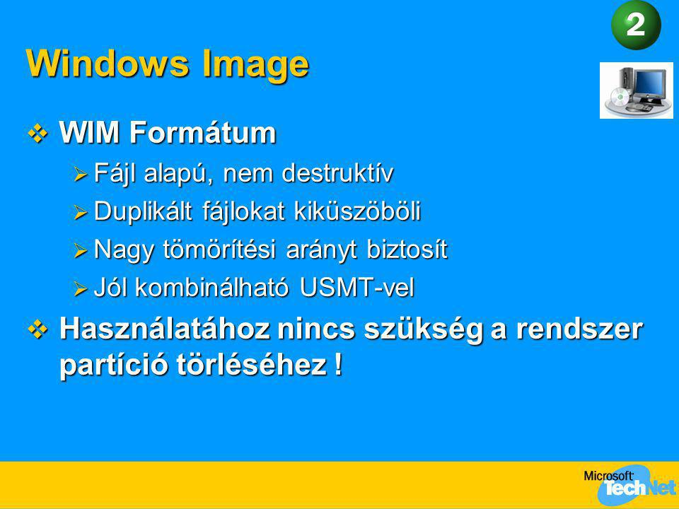 Windows Image WIM Formátum