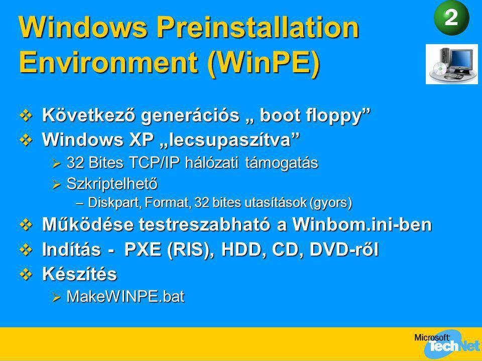 Windows Preinstallation Environment (WinPE)