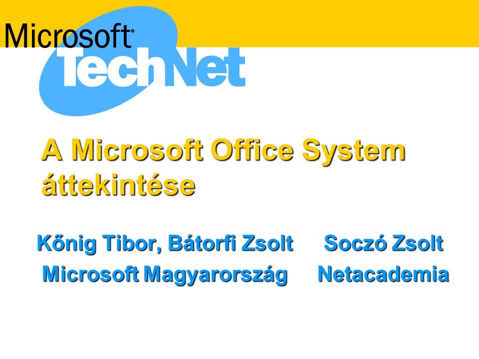 A Microsoft Office System áttekintése