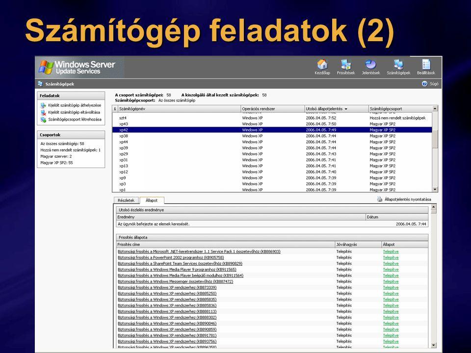 Számítógép feladatok (2)