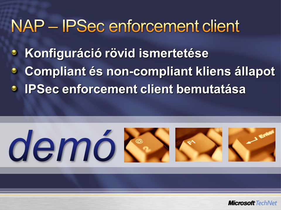 NAP – IPSec enforcement client