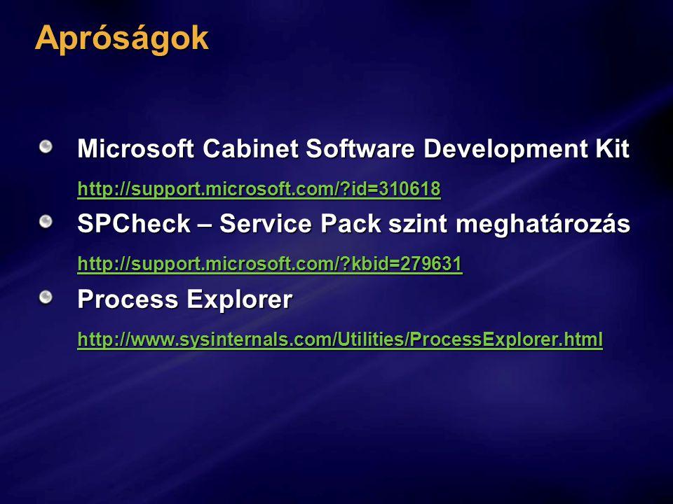 Apróságok Microsoft Cabinet Software Development Kit