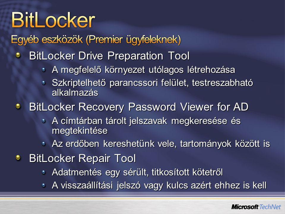 BitLocker Egyéb eszközök (Premier ügyfeleknek)