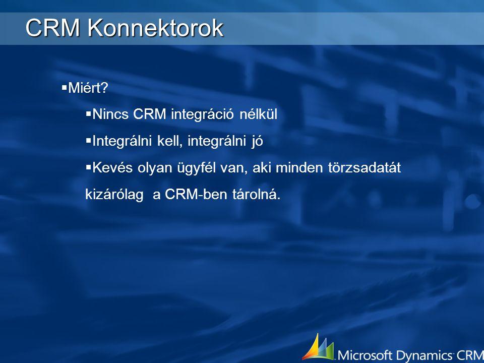 CRM Konnektorok Miért Nincs CRM integráció nélkül