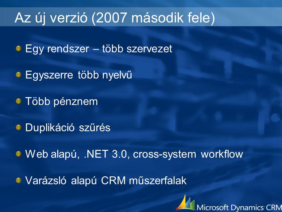 Az új verzió (2007 második fele)