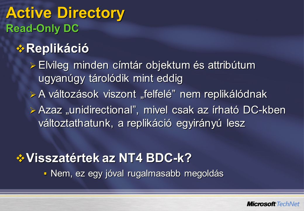 Active Directory Read-Only DC