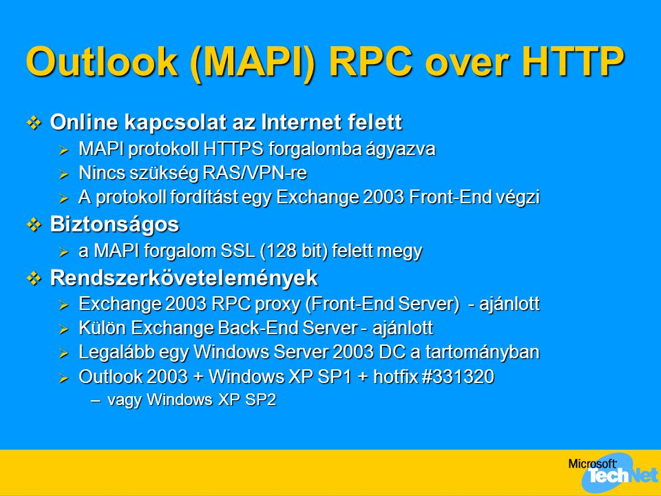 Outlook (MAPI) RPC over HTTP