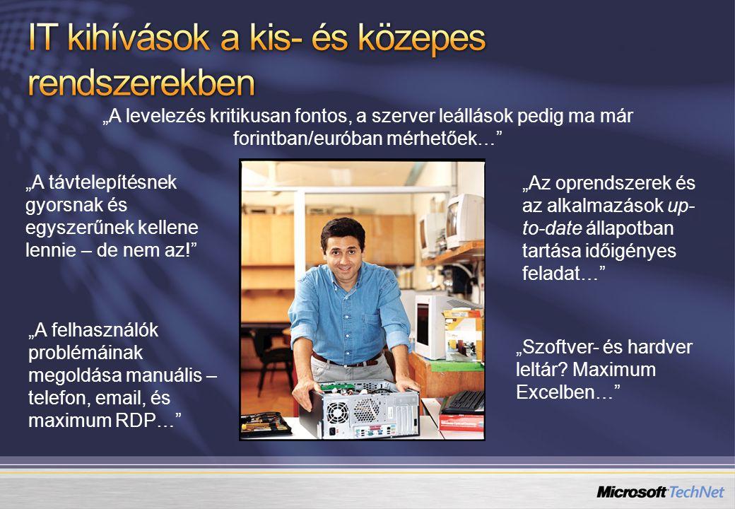 IT kihívások a kis- és közepes rendszerekben