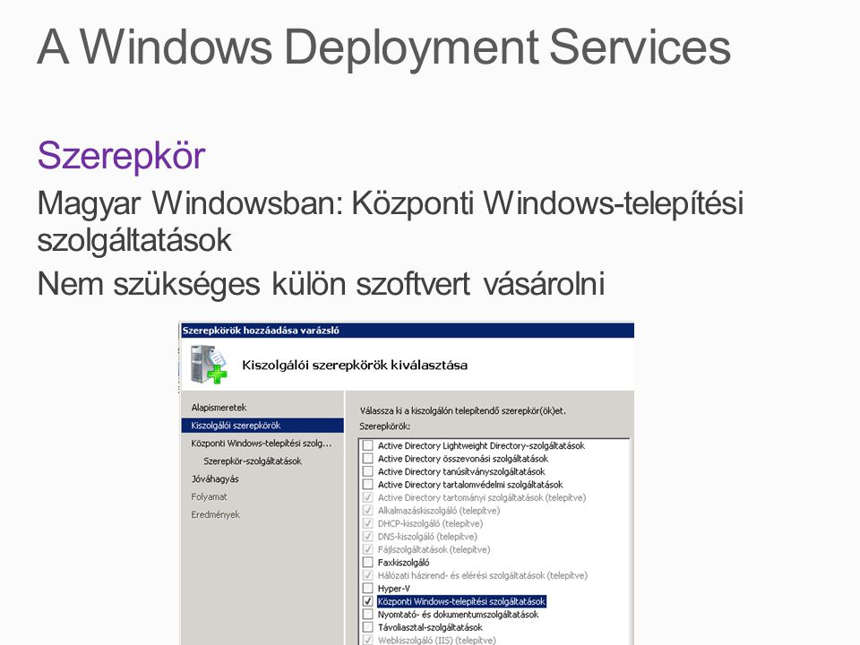 A Windows Deployment Services