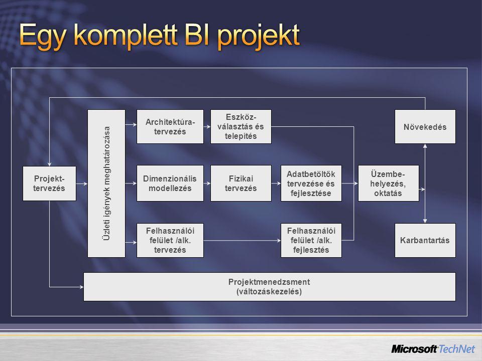 Egy komplett BI projekt