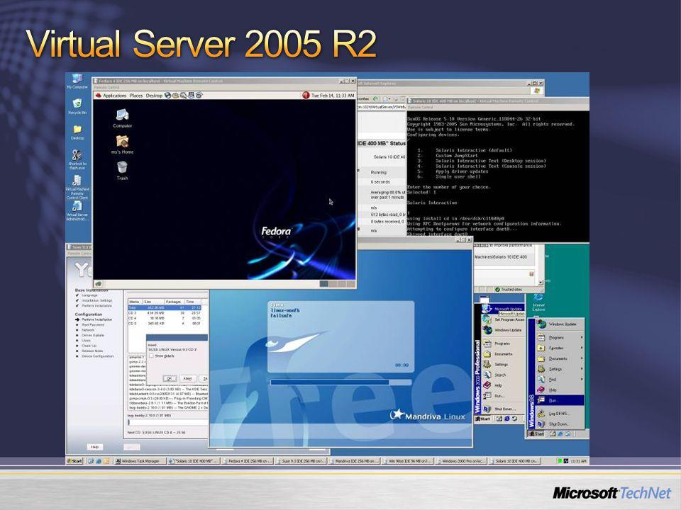 Virtual Server 2005 R2 11