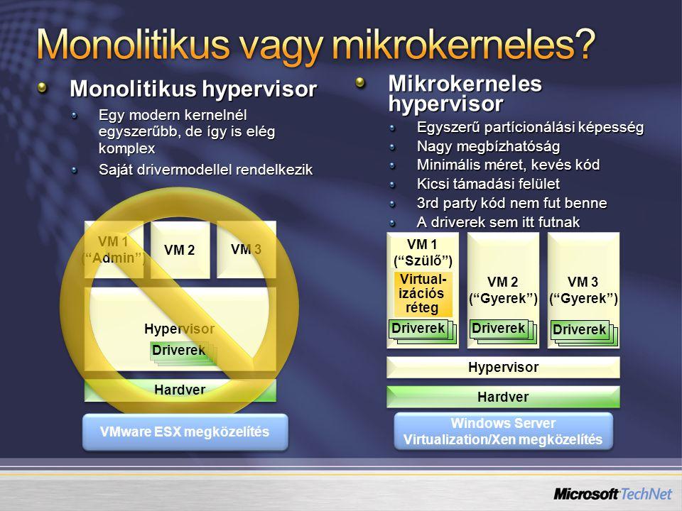 Monolitikus vagy mikrokerneles