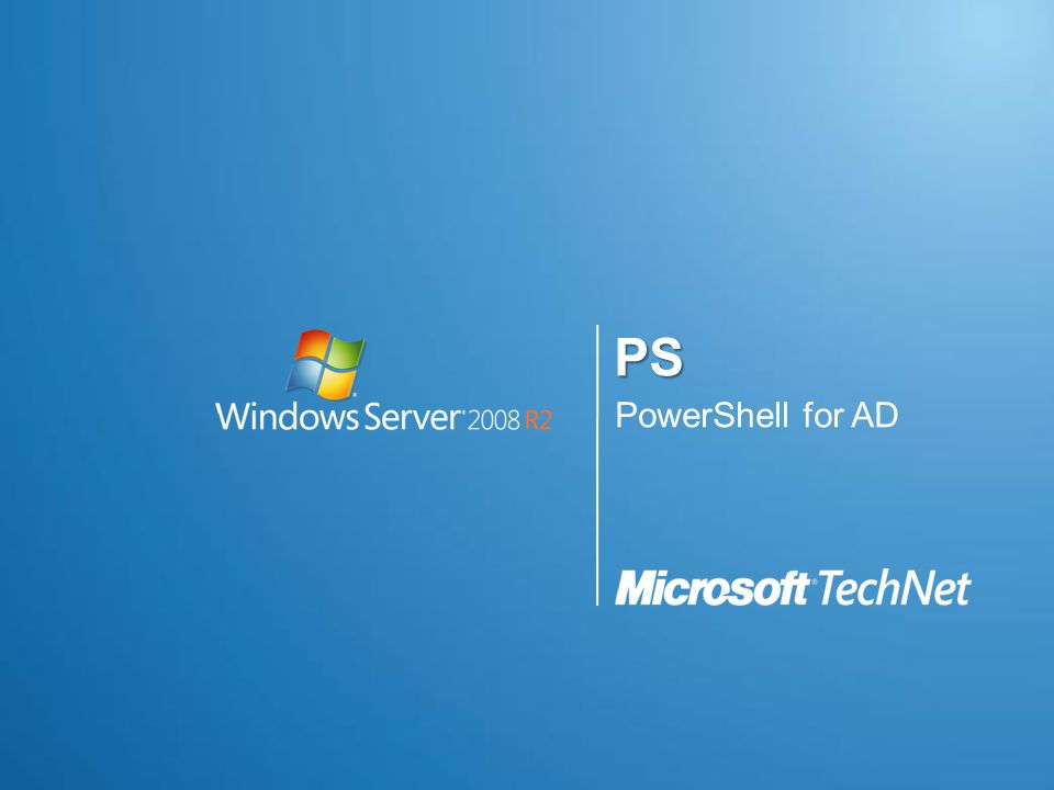 PS PowerShell for AD