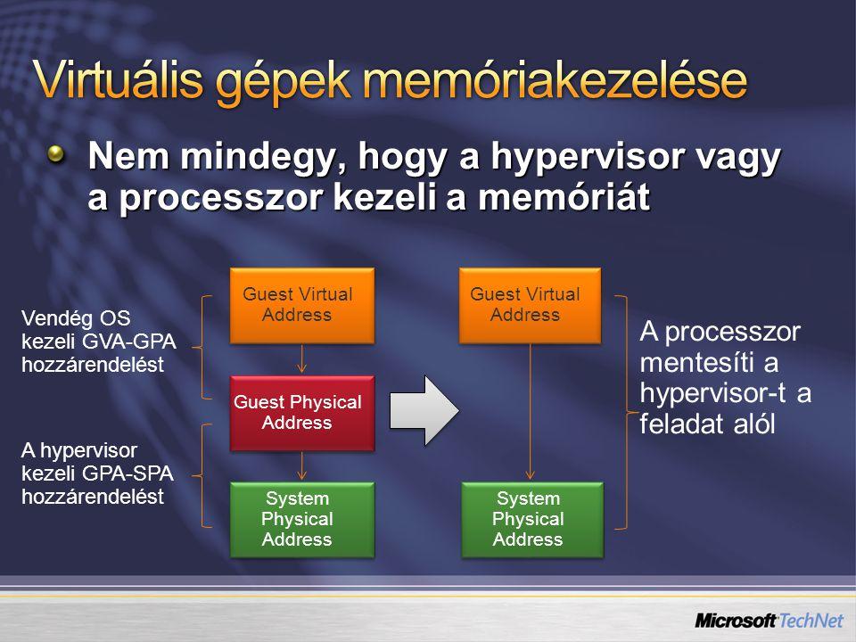 Virtuális gépek memóriakezelése