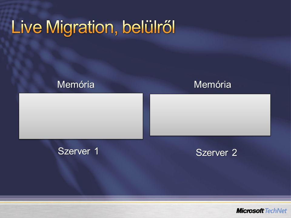 Live Migration, belülről