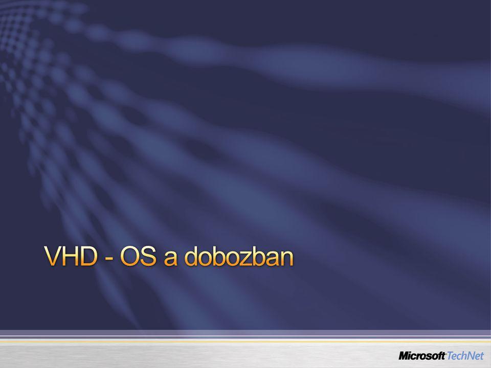 VHD - OS a dobozban