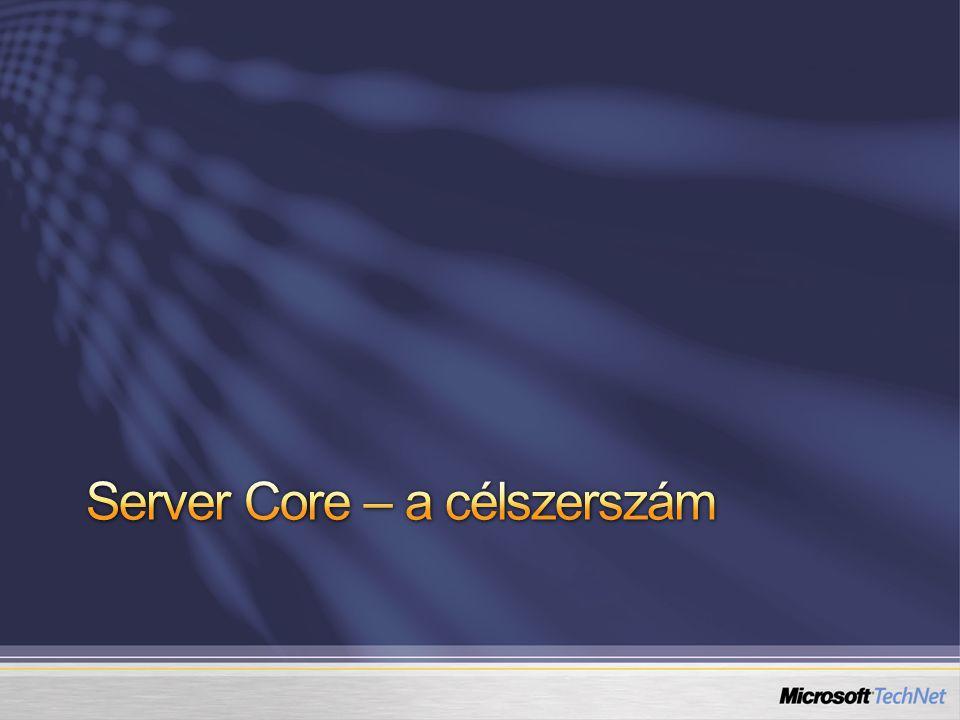 Server Core – a célszerszám