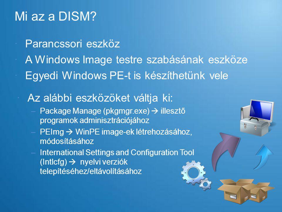 Mi az a DISM Parancssori eszköz