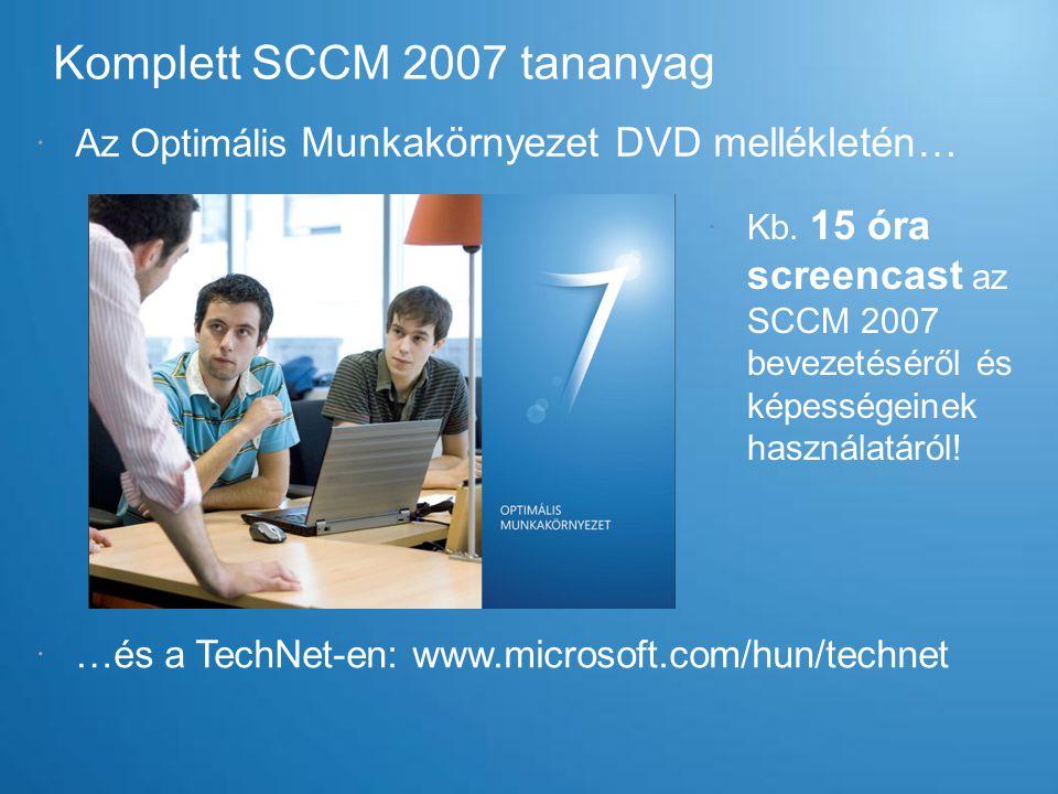 Komplett SCCM 2007 tananyag