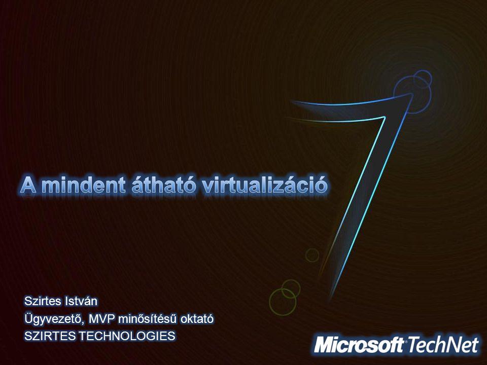 A mindent átható virtualizáció