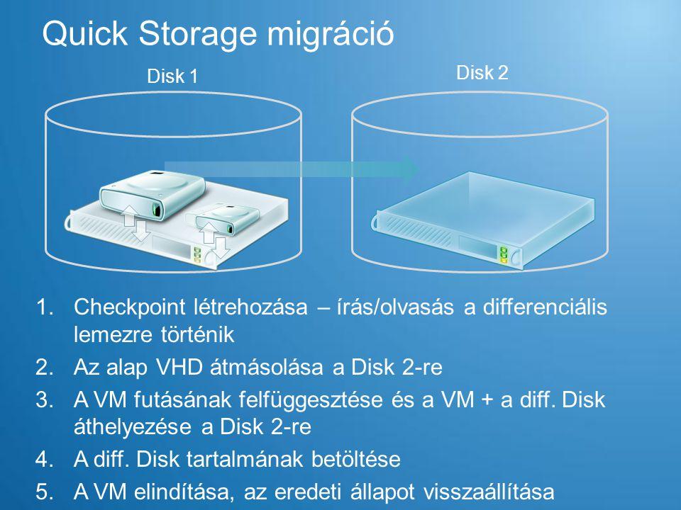 Quick Storage migráció