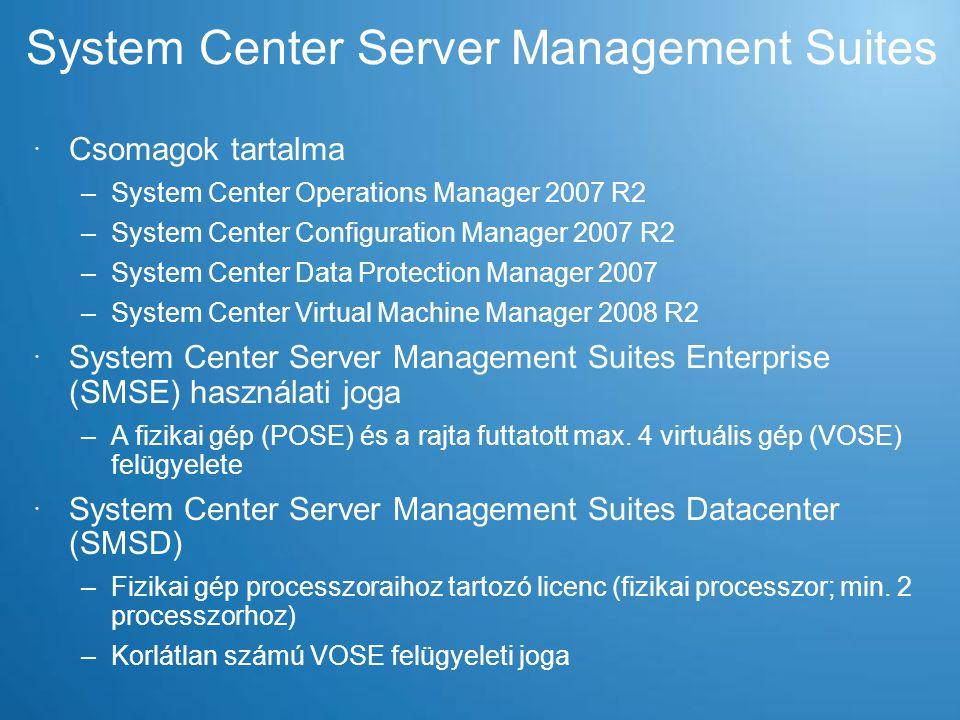 System Center Server Management Suites