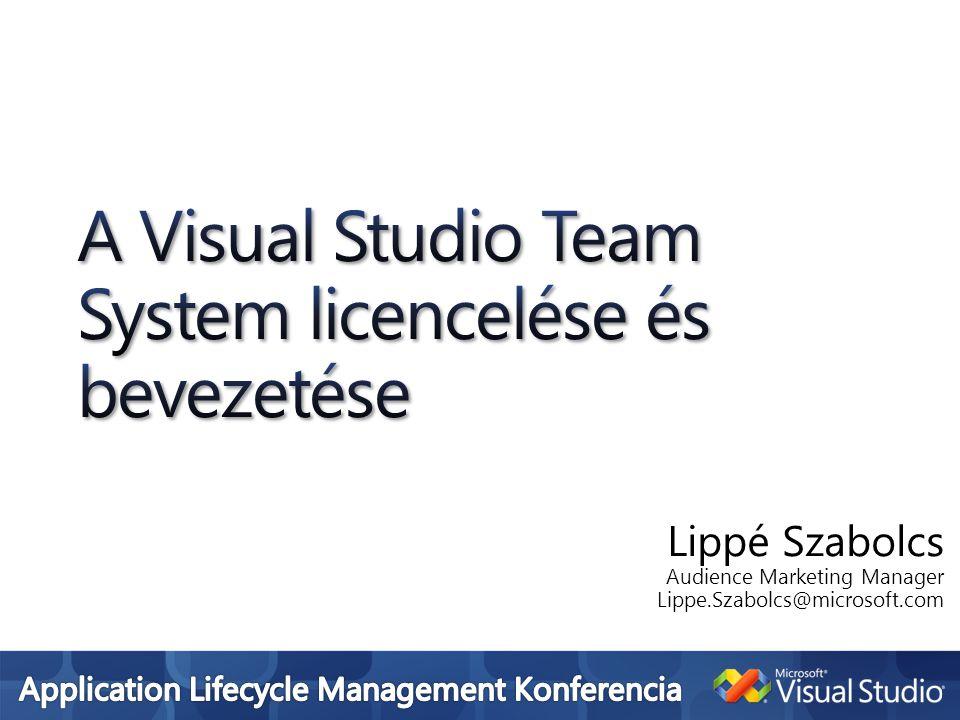A Visual Studio Team System licencelése és bevezetése
