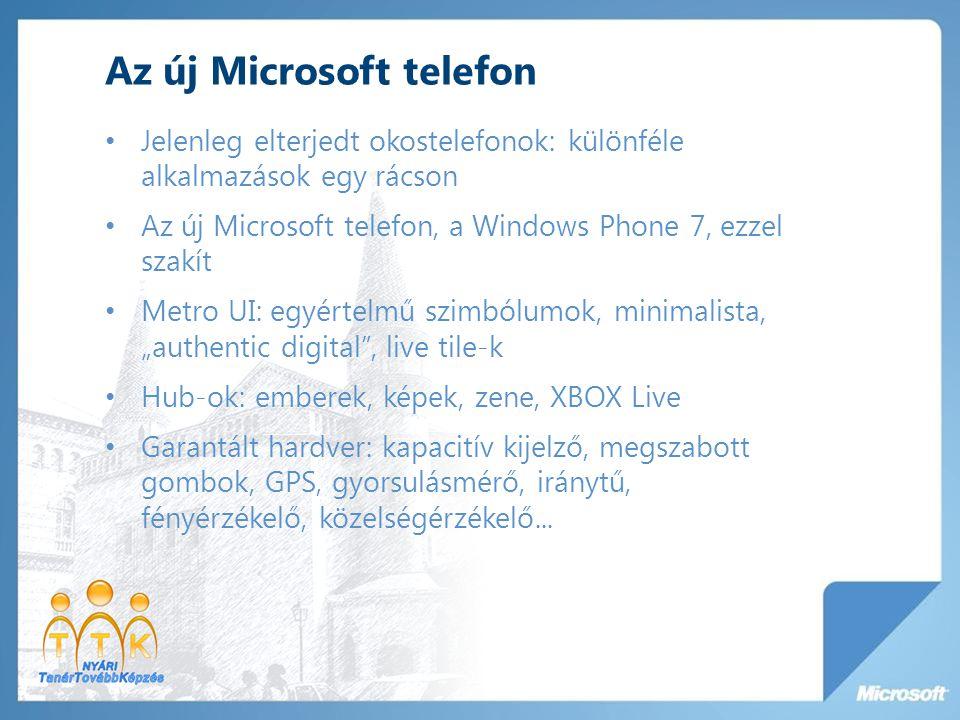 Az új Microsoft telefon