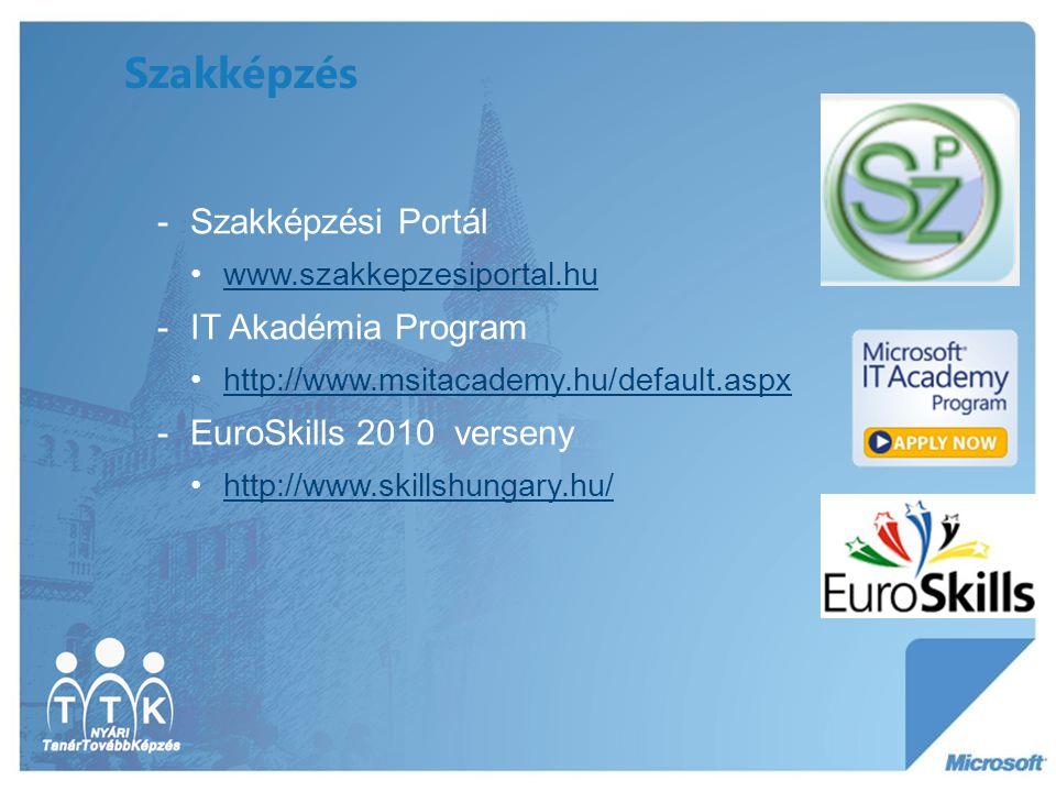 Szakképzés Szakképzési Portál IT Akadémia Program