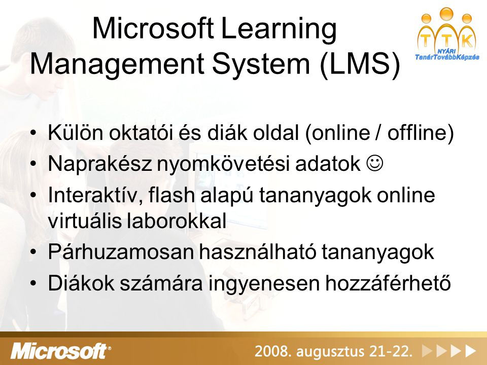 Microsoft Learning Management System (LMS)