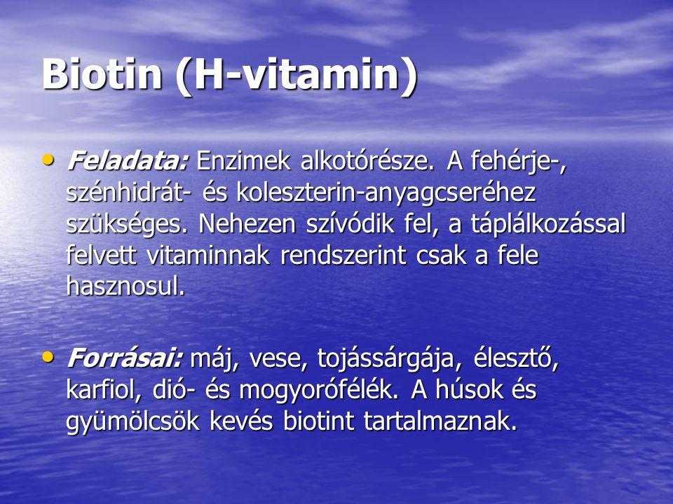 Biotin (H-vitamin)