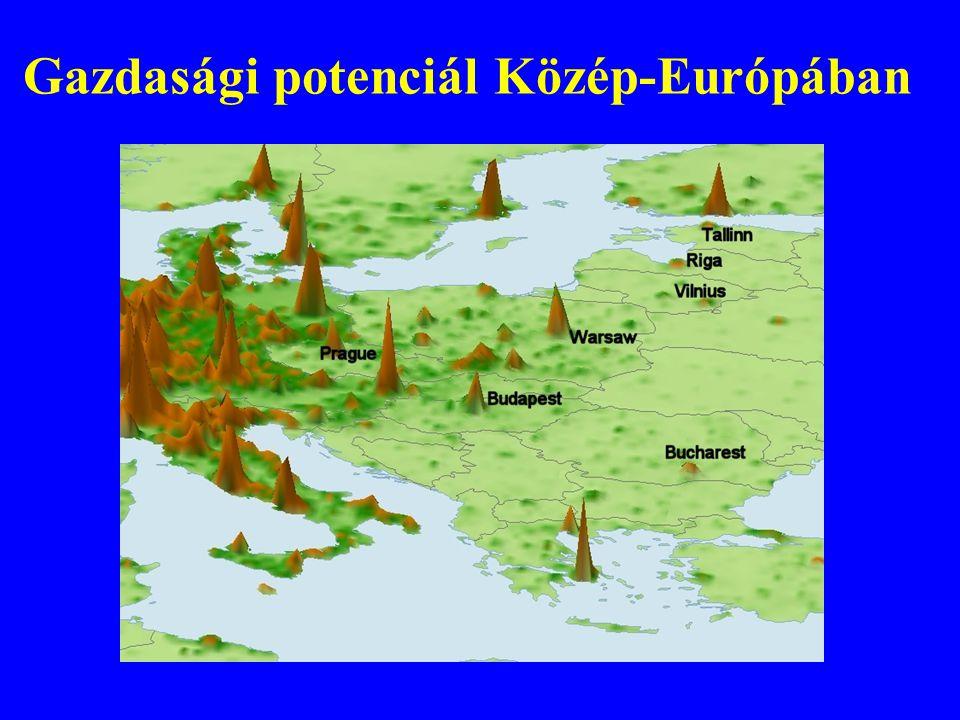 Gazdasági potenciál Közép-Európában