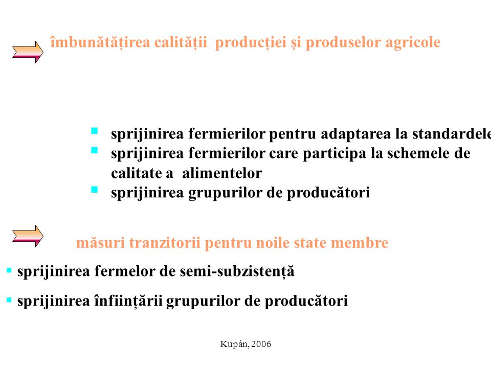 măsuri tranzitorii pentru noile state membre