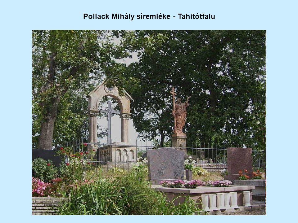 Pollack Mihály síremléke - Tahitótfalu