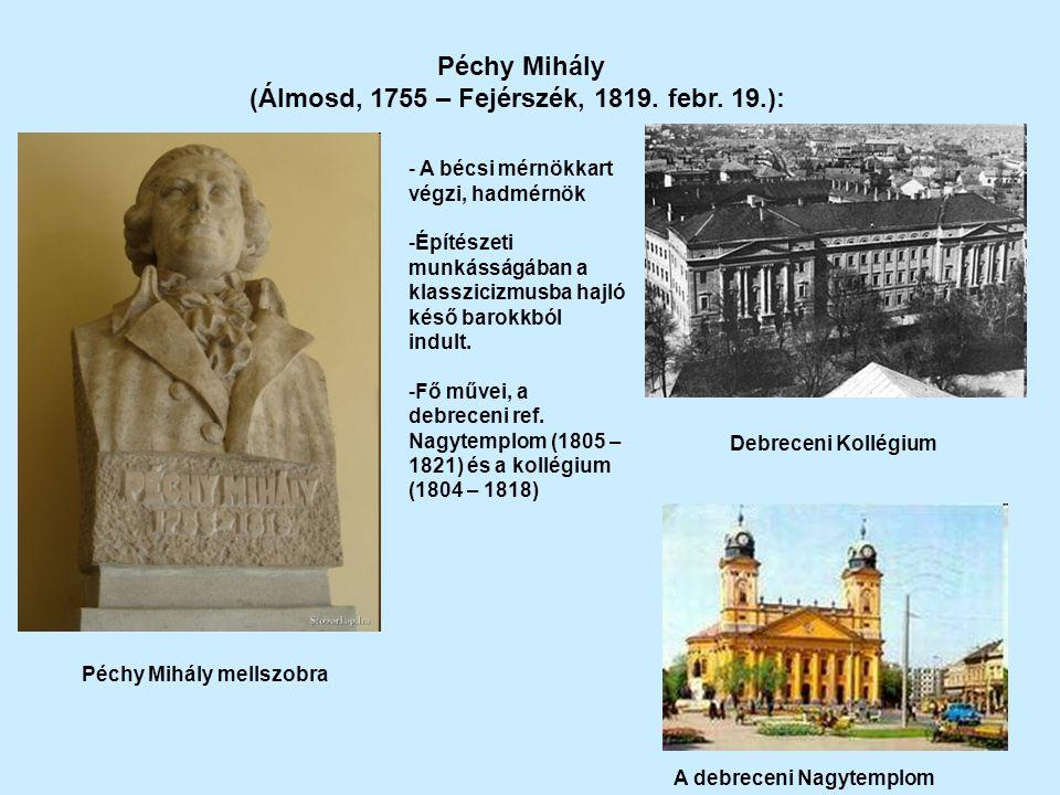 (Álmosd, 1755 – Fejérszék, 1819. febr. 19.):