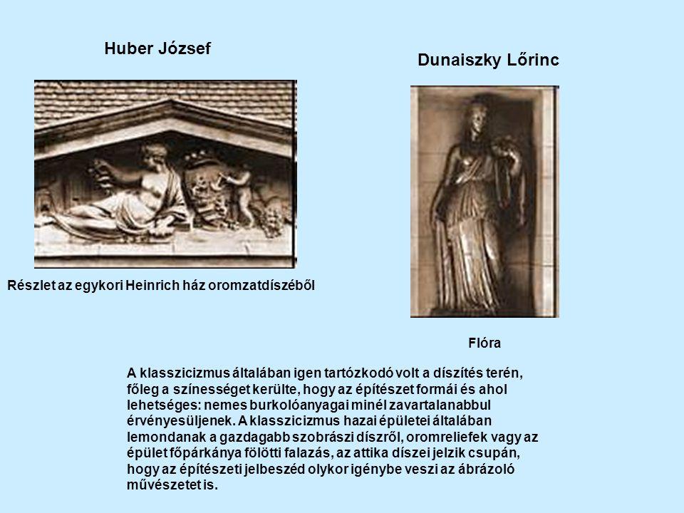 Huber József Dunaiszky Lőrinc